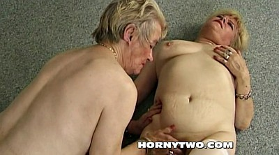 Hairy old, Mature hairy, Granny orgasm, Two, Fat old