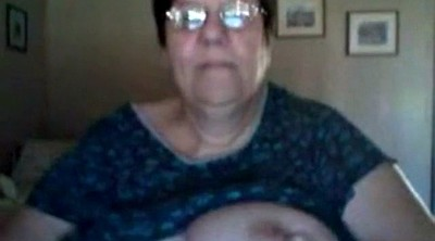 Mature, Webcam, Fat granny