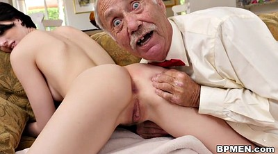 Old man, Granny anal, Anal granny