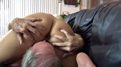 Young, Teen blowjob, Old granny, Granny facial