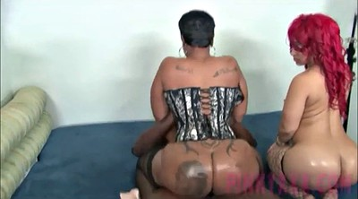 Vintage, Classic, Pinky, Together, Big black ass, Vintage tits