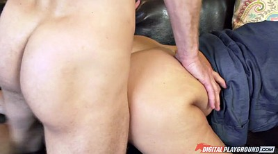 Julia ann, Caught, Mature fuck, Mature big tits