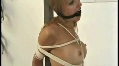 Two girls, Ballgagged