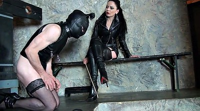 Spank, Boots, Leather, Boot