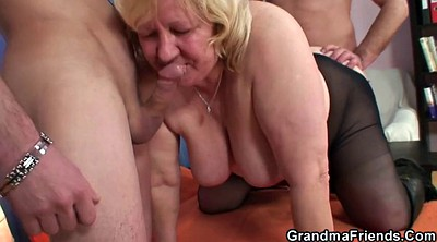 Boobs, Mature double penetration, Granny big tits