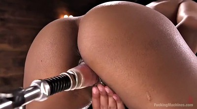 Hardcore, Machines, Chubby masturbating, Machine orgasm, Fucking machine, Ebony solo orgasm