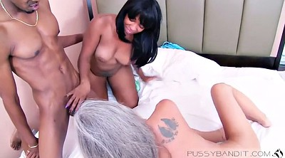 Asian granny, Black mature