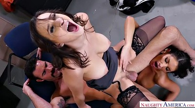 Office, August ames, Chubby creampie