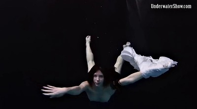 Small teen solo, Dress, Underwater, Stripped, Solo dress