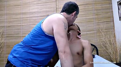 Asian old, Asian daddy, Old daddy, Asian bondage, Gay boy, Young asian