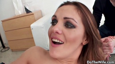 Husband, In front of husband, Wife fucked, In front of, Husband sucks, Front husband