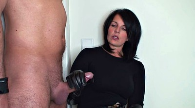 Gloves, Leather, Glove, Gloves handjob