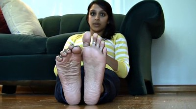 Indian, Milf feet, Indians, Feet solo