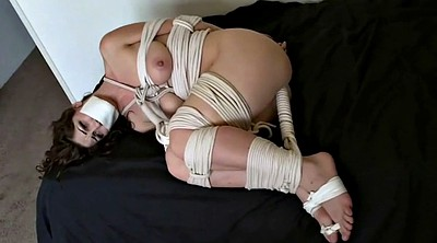 Tie, Rope, Foot tied, Foot gag