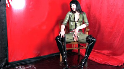 Boots, Catsuit, Latex masturbation, Boot