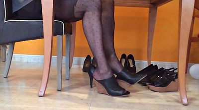 Nylon, Pantyhose foot, Nylon foot