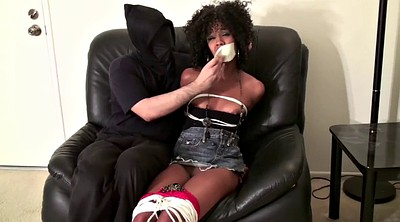 Bound, Ebony bound gagged