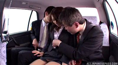 Pantyhose, Asian milf, Milf pantyhose, Car handjob, Asian chick, Pantyhose handjob