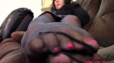 Nylon feet, Pantyhose foot, Pantyhose feet, Bbw feet