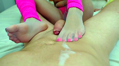 Footjob, Nylon footjob, Nylon feet, Nylon foot