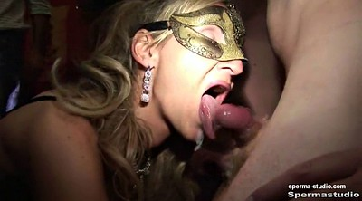 German creampie, Mouth cum, Cum in, Bukkake gangbang