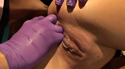 Nipple, Shaved, Anal fingering