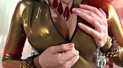 Hypno, Milf masturbation, Latex milf
