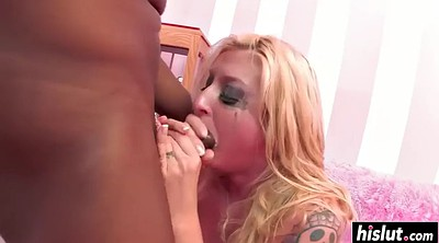 Interracial, Blonde black