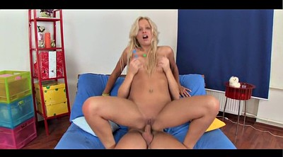 Casting anal, Blonde granny