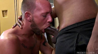 Huge dick, Locker room, Huge black cock
