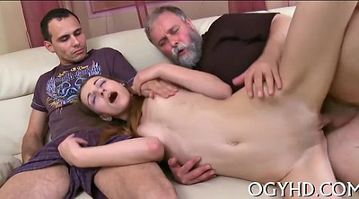Teen pussy eating, Russian grannies, Old & young, Eating pussy