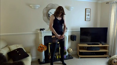 Crossdresser, Crossdressers, Boot, Sexy tranny