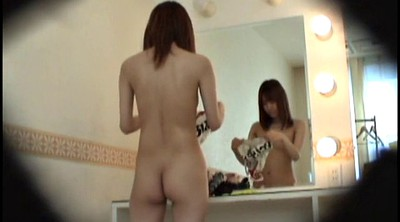 Teen, Peep, Skinny japanese, Changing, Peeping, Japanese voyeur