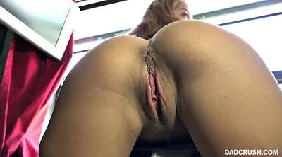 Spanking, Stuck, Stepdad, Window, Stucked, Spanking pov