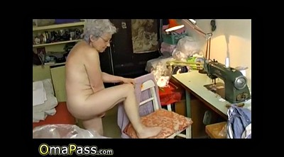 Hairy, Granny masturbation, Mature sex, Grandmas