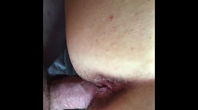 Bbw creampie, Wife with