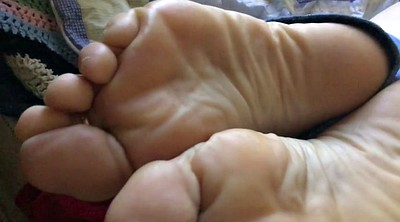 Lick feet, Wife foot