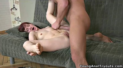 First time, Pale, First time fuck, First time anal, Pale anal