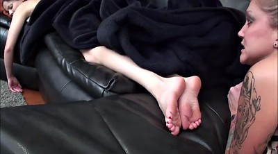 Sleeping, Foot worship