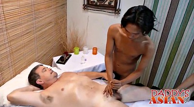 Asian, Interracial massage, Interracial asian, Hot guys fuck