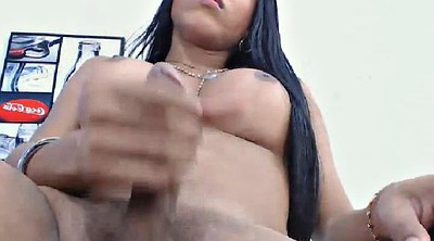 Transsexual, Ebony shemale, Hot shemale