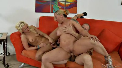 Threesome, Mature lady