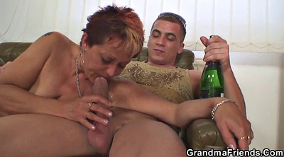 Grandma, Old and young, Grandmas, Wife threesome