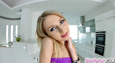 Blond masturbation, Goldie