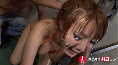 Bukkake, Japanese girl