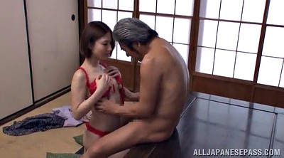 Tits job, Tit job, Asian mature