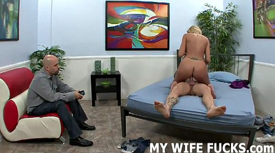 Cuckold, My wife, Wife watching