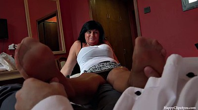 Footjob, Cfnm, Friend mom, Mom taboo, Mom friend, Mom feet