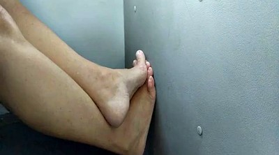 Bus, Hidden cam, Foot job