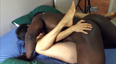 Cuckold creampie, Hotwife, Black couples
